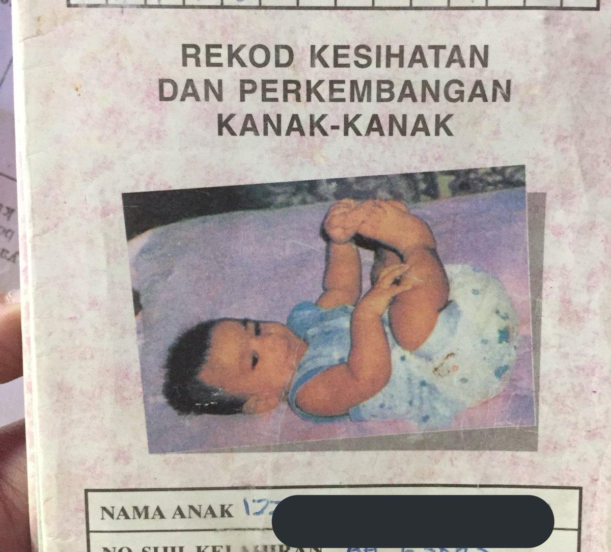 Dulu selalu ingat gambar baby ni sebenarnya gambar aku lepas lahir. Padahal ...