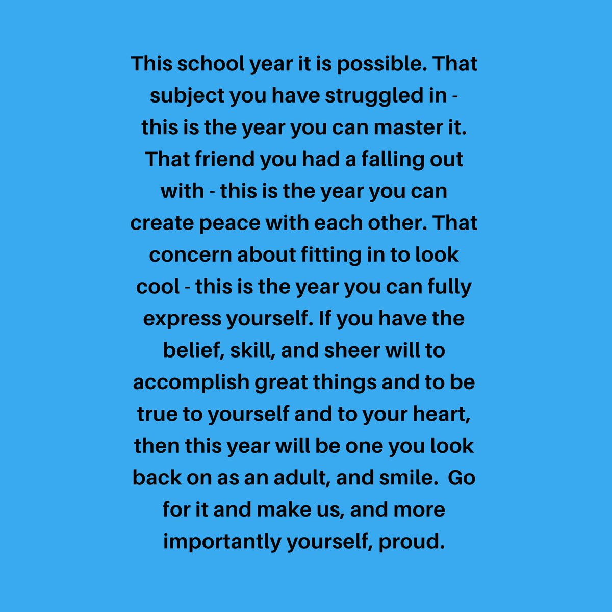 To our incredible @MDCPS students - please take a moment to read my message to you.