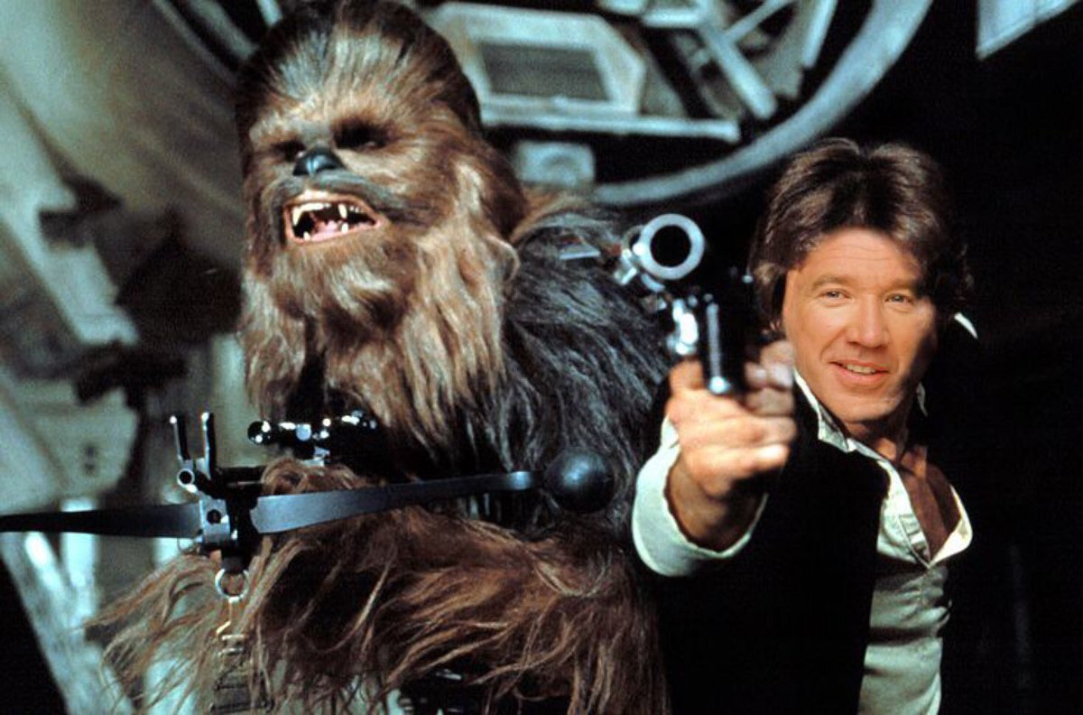 Harrison Ford was somewhat good in Star Wars...but #TimAllenWouldHaveBeenBetter<br>http://pic.twitter.com/2ZQHHZYeeL