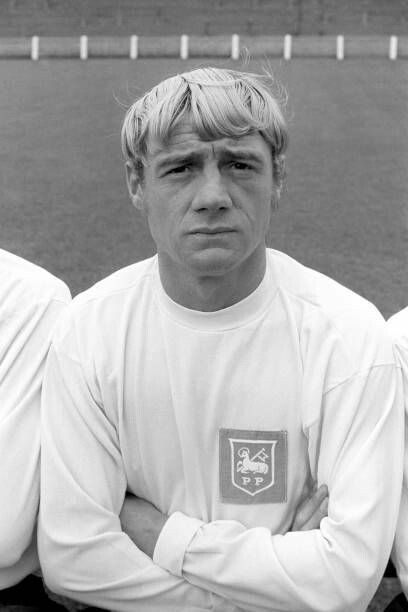 Preston North End FC Clive Clark