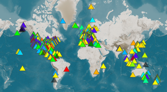 raspishake: New #RaspberryShake personal seismographs came online this week in these countries: #France #Panama #USA. Join the largest #CitizenScience #earthquake monitoring #Community today! https://t.co/iGXGK7ZMO9