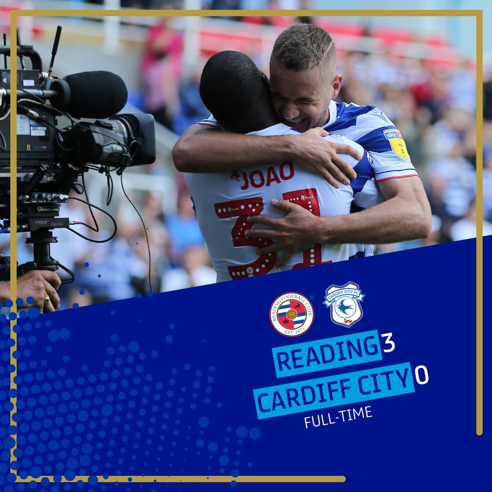 FULL-TIME! @ReadingFC claim their first league win of the season in style! #EFL | #SkyBetChampionship