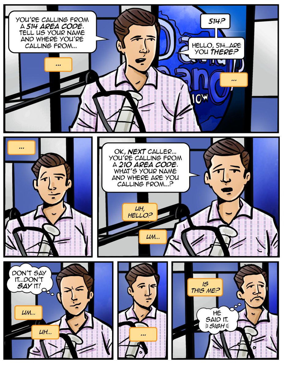 And now, a David Pakman Show comic! With @dpakman starring in: The Case of the Nervous Callers!  #MakeComics #ComicArt #DavidPakmanShow<br>http://pic.twitter.com/CkwZKtzubG