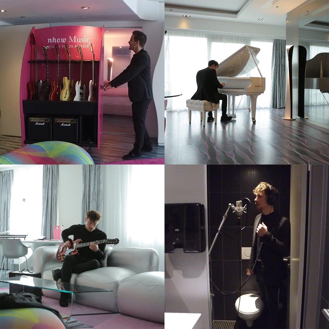 Este hotel em Berlim é perfeito para quem toca instrumentos musicais!