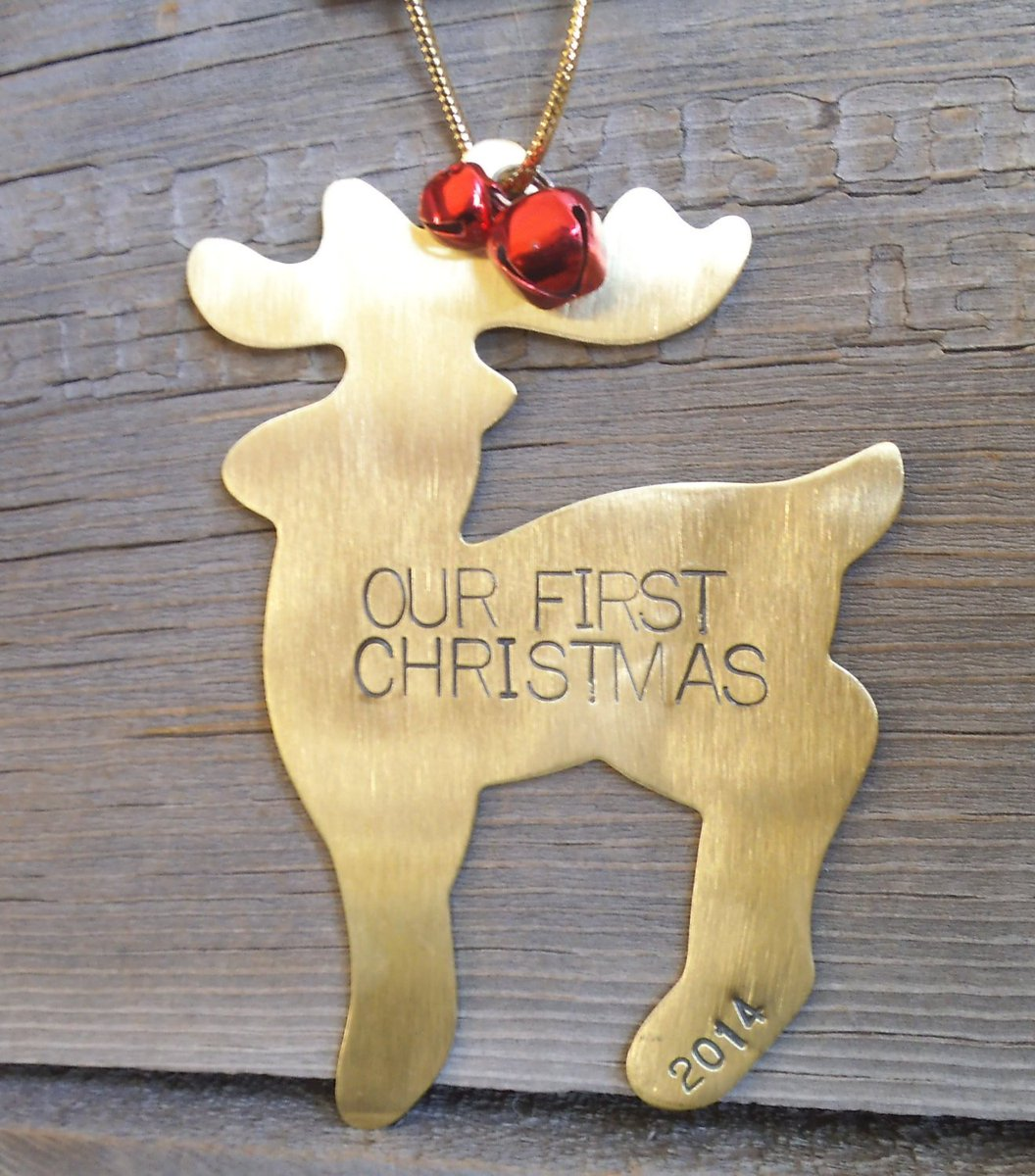 Personalized Ornament Personalize Christmas Ornaments Our First Christmas 1st Christmas Together Mr and Mrs Ornament First Year Husband Wife http://tuppu.net/f3872558 #Shopify #CandTCustomLures #Housewares