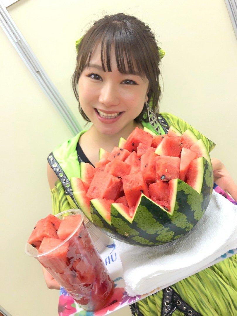 【10期11期 Blog】 スイカとメロンとちぃ!石田亜佑美:…  #morningmusume19
