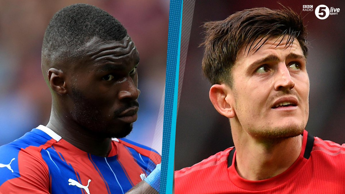Harry Maguire is number one, Christian Benteke is definitely in the top five 😂 😂 😂 @ConorMcNamaraIEs deliberating over who has the biggest head in the #PL. Can anyone top @HarryMaguire93? 🤔 Listen: 📲⚽️ bbc.in/2AhzsDX #bbcfootball #SHUCRY