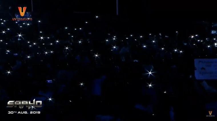 తారలు దిగివచ్చిన వేళ! Watch #SaahoPreReleaseEvent Live here: youtu.be/eViKNj9TXRM #Saaho #30AugWithSaaho