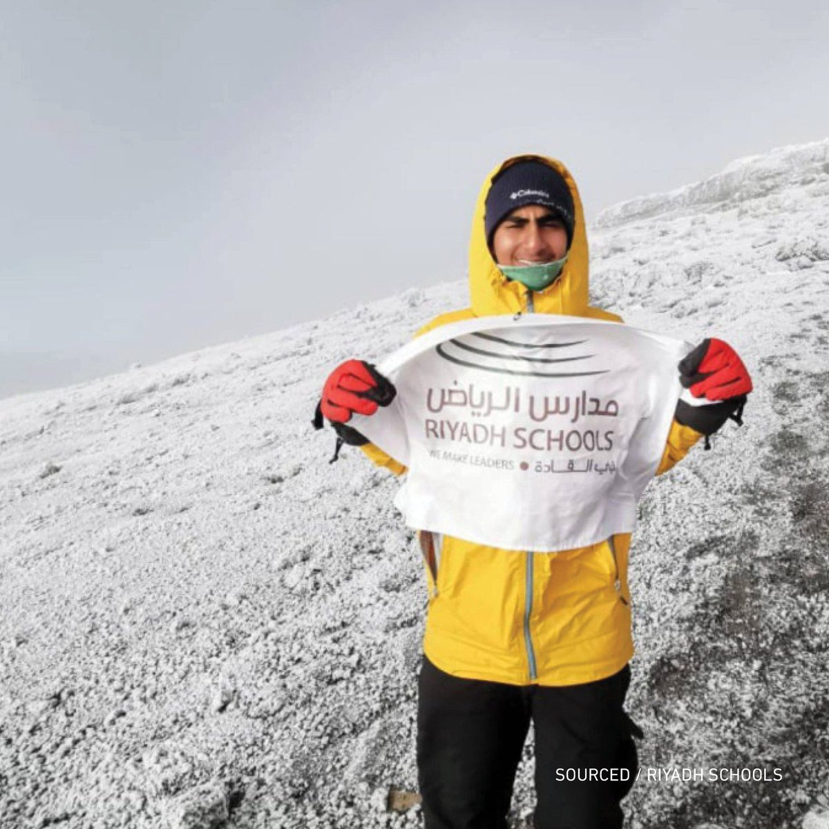 In an unbelievable accomplishment, 14 year old Abullah Altoaimi became the youngest #Saudi to scale Mount Kilimanjaro. Taking over a week to complete, Abdullah's achievement is an absolutely incredible success!  #SaudiArabia<br>http://pic.twitter.com/ojmncwtyKz