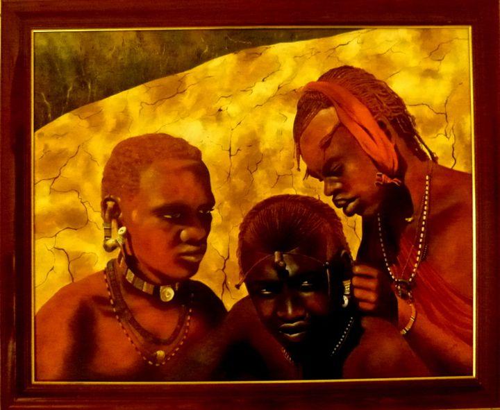 "Featured Art of the Day: ""jeunes guerriers Maasaï"". Buy it at:  https://www. ArtPal.com/pacaudchristia n?i=104428-7  … <br>http://pic.twitter.com/NkGcXZuDPS"