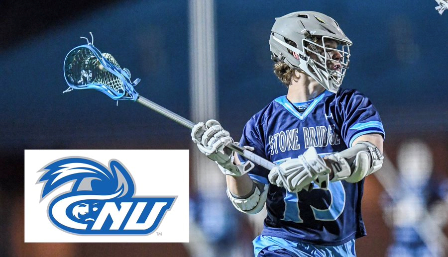 Congrats to Bryan Reilly (2020, Midfield) Stone Bridge HS, All State (2nd, 5A), All Region (1st, 5C), on his commitment to Christopher Newport University.  Bryan is the 48th 2020 on the #VaLaxRecruits 2020 committed list.  @StoneBridgeLax @CNULacrosse<br>http://pic.twitter.com/dNpdS8IeDS