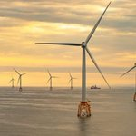 Image for the Tweet beginning: Scotland's largest offshore wind farm
