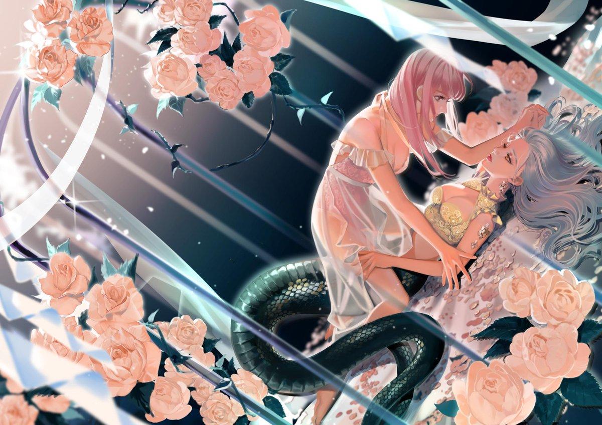 Lamia Creed Story: FoxyFox Illust: HIRUNA Movel Publishing  #novelcover #illustration #digitalart<br>http://pic.twitter.com/9buR5IQ1Jn