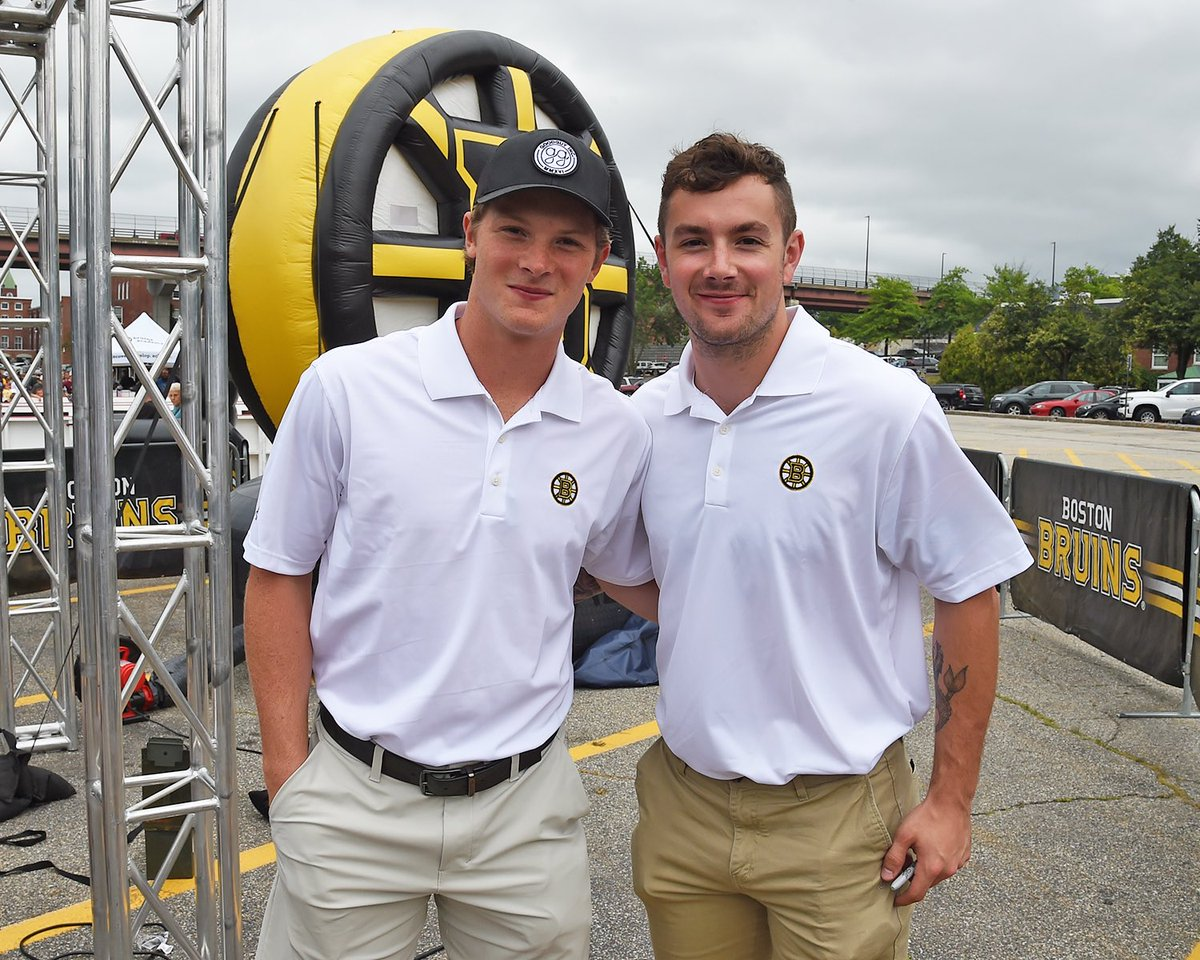 The opening weekend of #BruinsTour wraps up today in Burlington, Vermont. @tfreddy42 and @ZachSenyshyn will be back once again and they'll be joined by #NHLBruins alum @PJStock28!