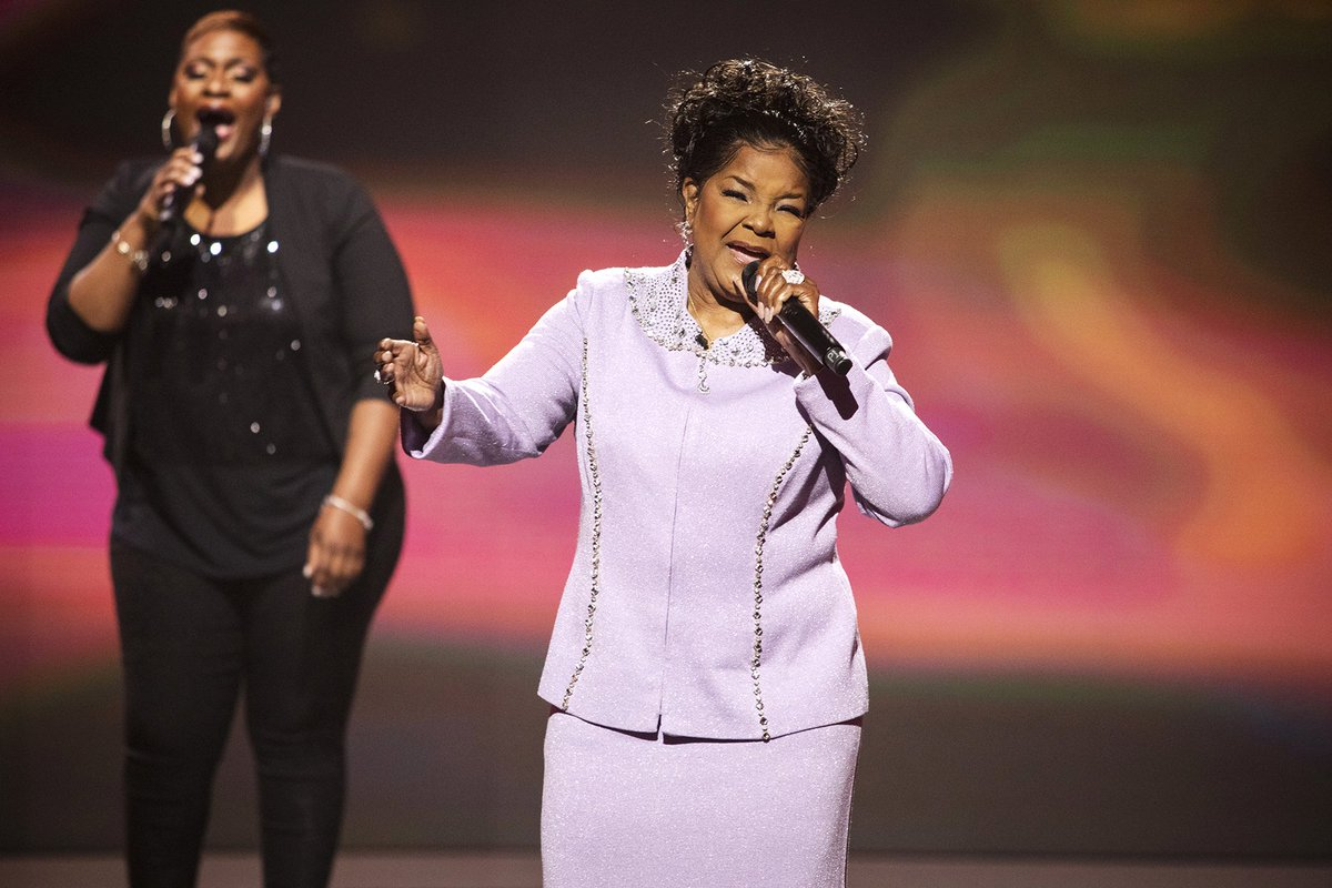 "The reigning Queen of Gospel, Pastor Shirley Caesar brings the spirit during her performance of ""Yes, Lord, Yes"". Watch, sing along, and get the spirit before you catch more vocal greatness on an all-new 'Sunday Best' tonight 8/7c. #BETSundayBest"