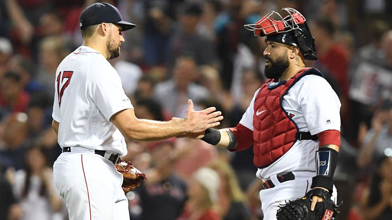 Sandy Leon will catch Nathan Eovaldi as the Red Sox eye a series sweep of the Orioles.  Check out the lineups for both teams in today's #LeadingOff:  http:// nesn.com/?p=974766    <br>http://pic.twitter.com/7ctI5kF3DN
