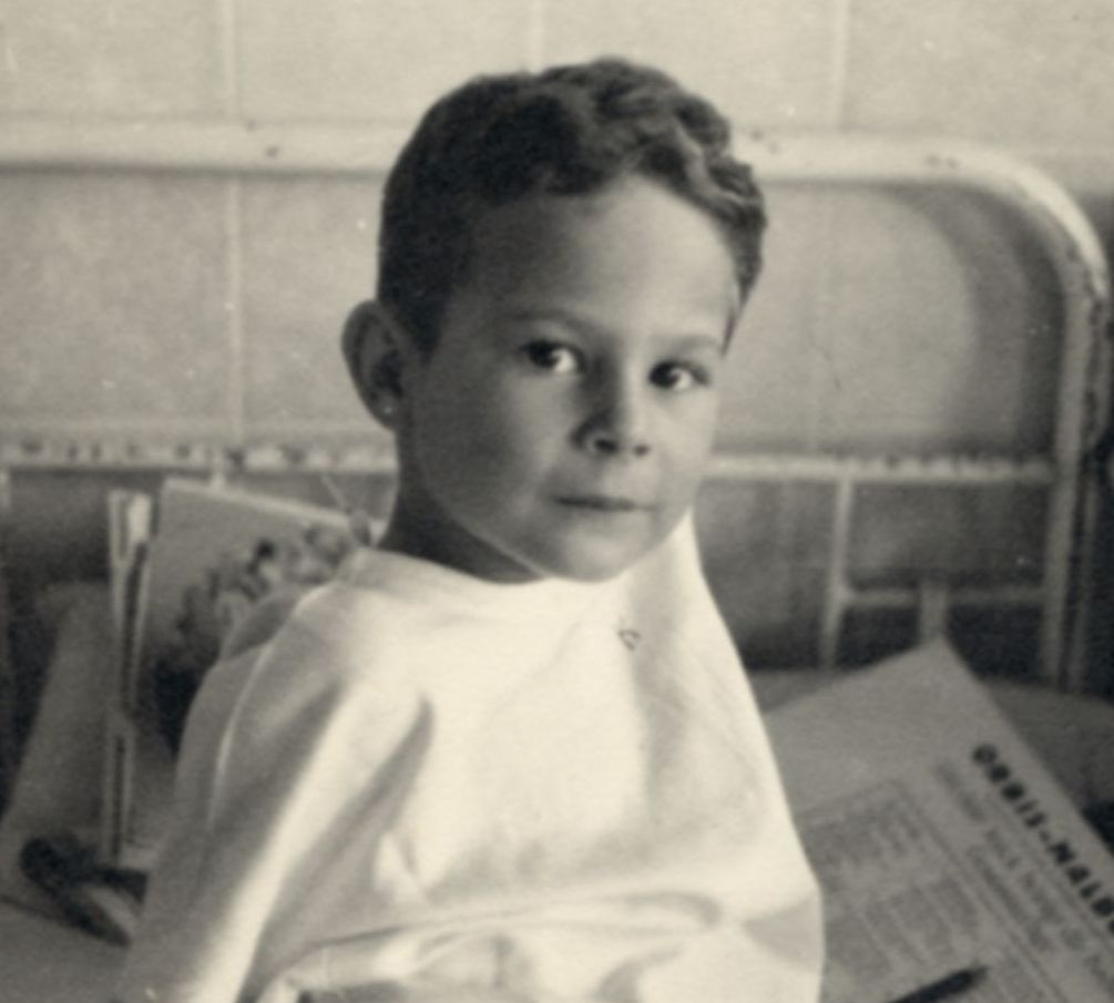 Robert Wagemann suffered a shattered hip at birth. During a checkup, his mother overheard doctors discussing murdering him. Robert and his mother fled. #OTD in 1939, doctors were ordered to report children with mental or physical disabilities. encyclopedia.ushmm.org/content/en/art…