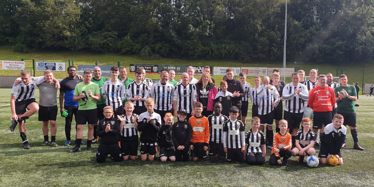 Thanks to everyone who came along to our memorial match for Steven Nisbet 💙 over £500 raised for Stevens family 👏 well done everyone great wee afternoon 😃 https://t.co/3RJGOIXqAp