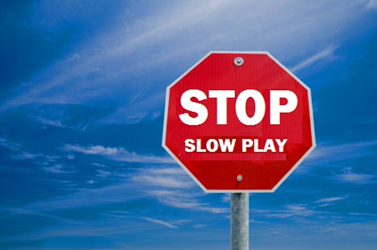 Stop S-L-O-W Play. Please. Our Top 5 Tips! golfpunkhq.com/golfpunk-campa… #rulesofgolf