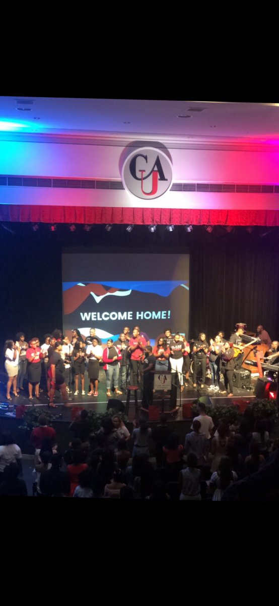The #CAUFootball team would like to thank #CAUChapel for having us this morning at their amazing worship here on campus this morning! #CAU23 #CAUPanthers #EverythingMatters #LegitLit @CAU