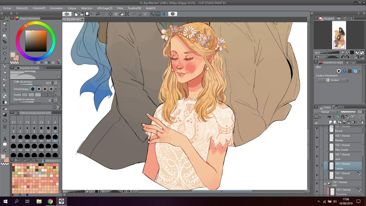 Still trying to lure myself into thinking that I will finish this piece one day.  #BigLittleLies  #biglittlelies2 <br>http://pic.twitter.com/mLTz9x4ERN