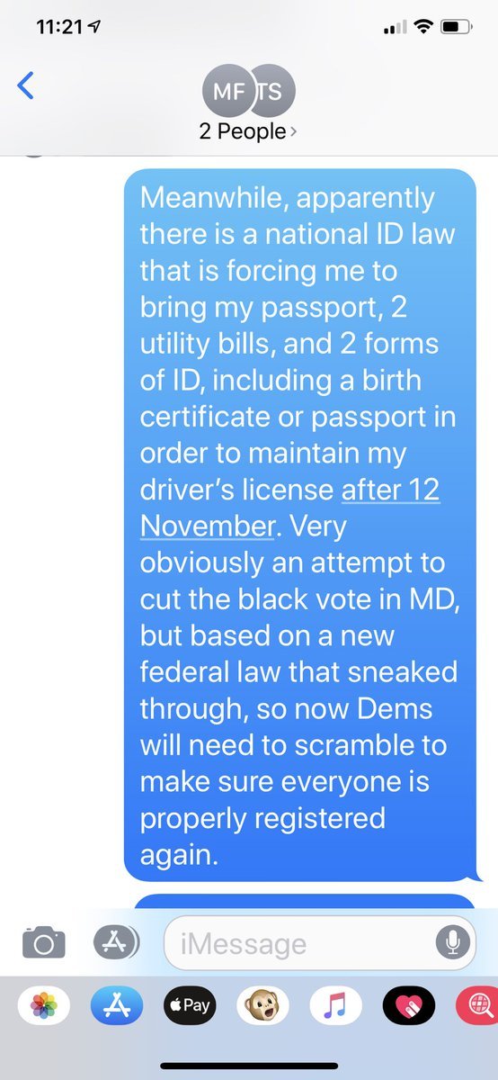 Democrats are going to have to get busy with new ID laws, because GOP is trying to suppress the #vote again!