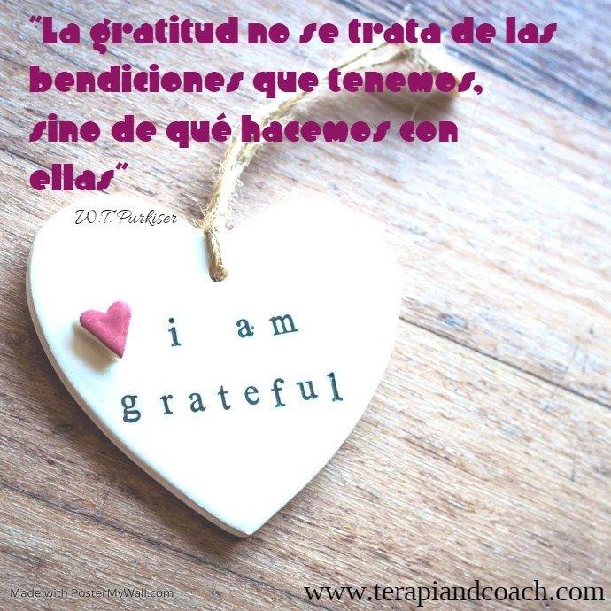 ¿QUÉ ES LO QUE HACES CON LAS BENDICIONES QUE TIENES? 🌞💚 El agradecimiento es una de las emociones más poderosas.