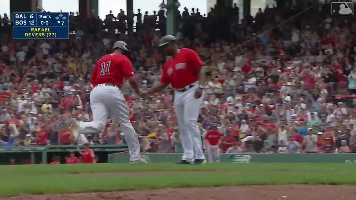 Rafael Devers for best player in the league not named Mike Trout.