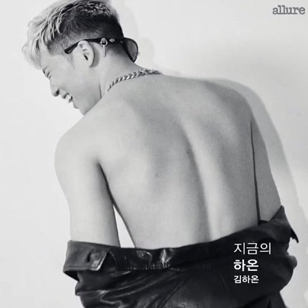 Haon for Allure Korea Fall 2019... what goes on <br>http://pic.twitter.com/7wSN3X7wIo