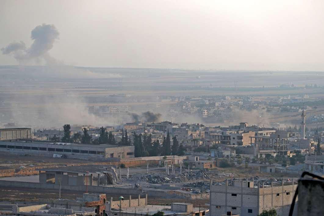 Syrie: les forces du régime entrent dans une ville clé du nord-ouest bfmtv.com/international/…
