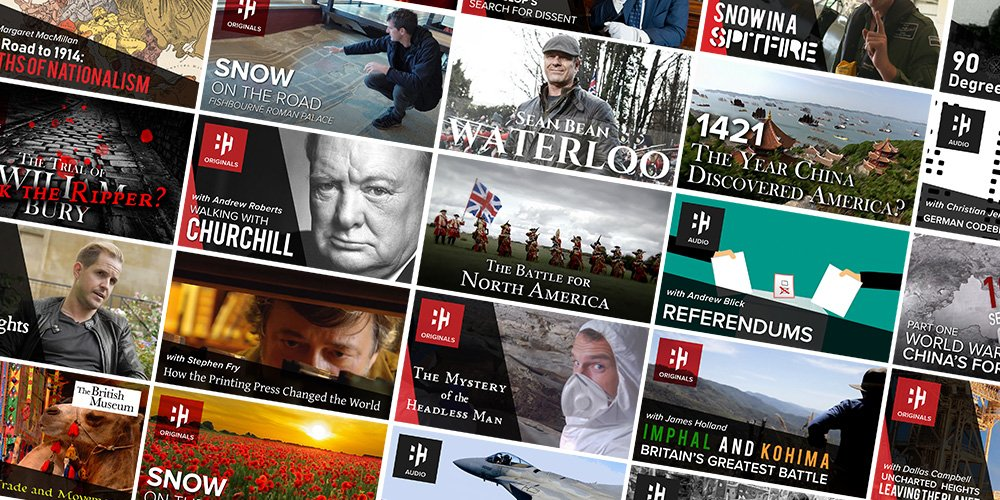 So much planned over the next couple of months: Appeasement, Roman Britain, Alexander the Great, maybe get some Arnhem in there too.... Catch it all on History Hit TV. Sign up with code twitter and enjoy a 6 week free trial on me 👉 tv.historyhit.com/signup/package