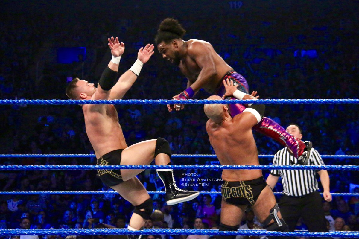 @DashWilderWWE @ScottDawsonWWE #ShatterMachine  #TheRevival #TopGuys #WWE #SDLive #tagteam #tagteamwrestling – at Scotiabank Arena