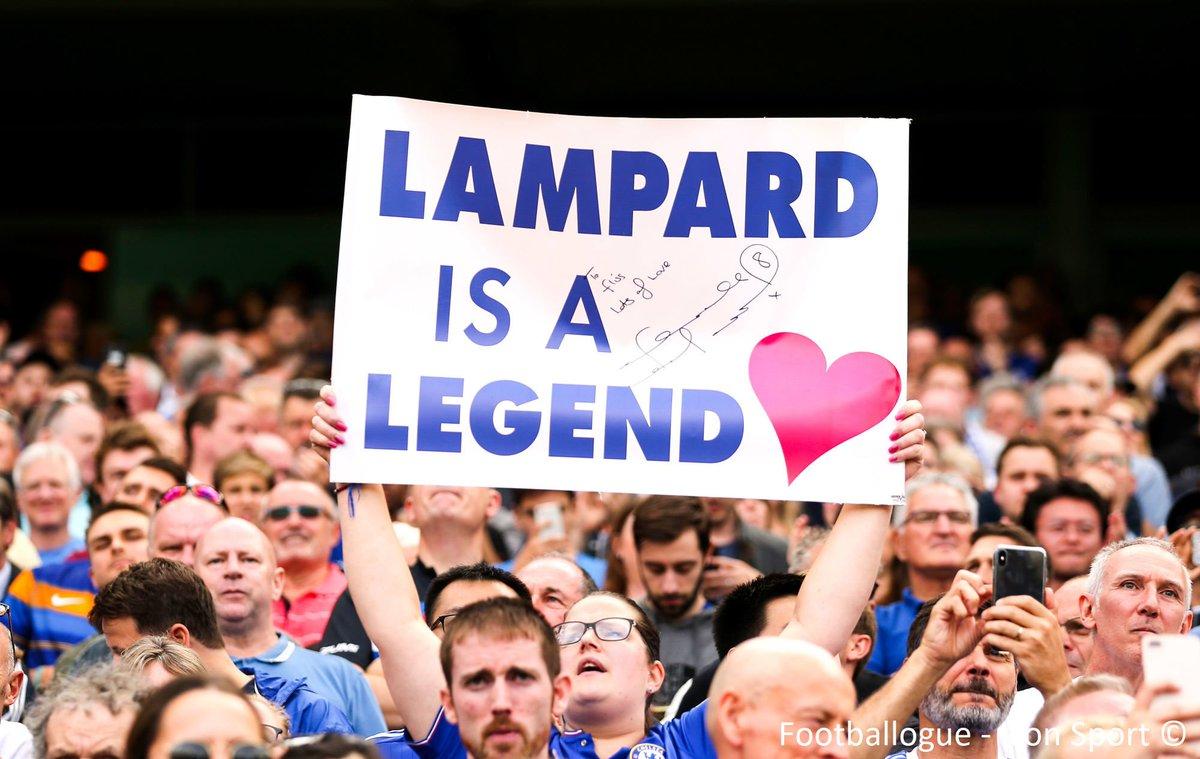 RT @Footballogue: [#PL🇬🇧] Le bel hommage de Stamford Bridge à Frank Lampard ✨  #CHELEI https://t.co/2e0WcGYxdF