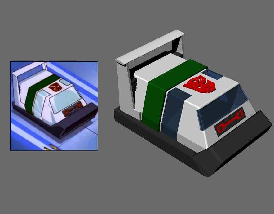 Thought it would be fun to create Cybertronian Wheeljack from the original G1 series, gven how he was the very first bot to make an appearance.Trying to get the internals done before test printing to make sure it's all ready for release! 😁#transformers #wheeljack #3dprint