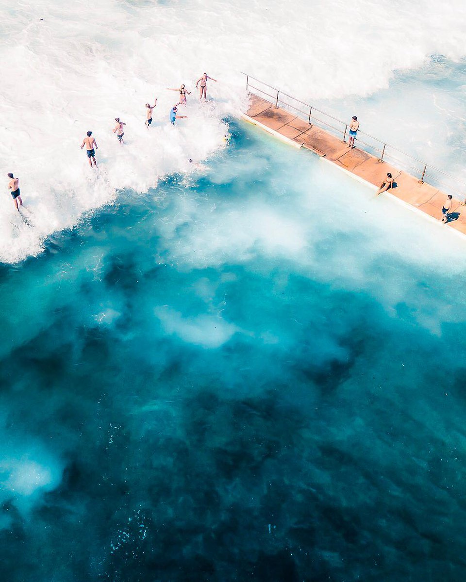 #HelloFrom Merewether Baths, an amazing spot for some saltwater therapy 🌊 instagram.com/p/B1UAAz8g35f/