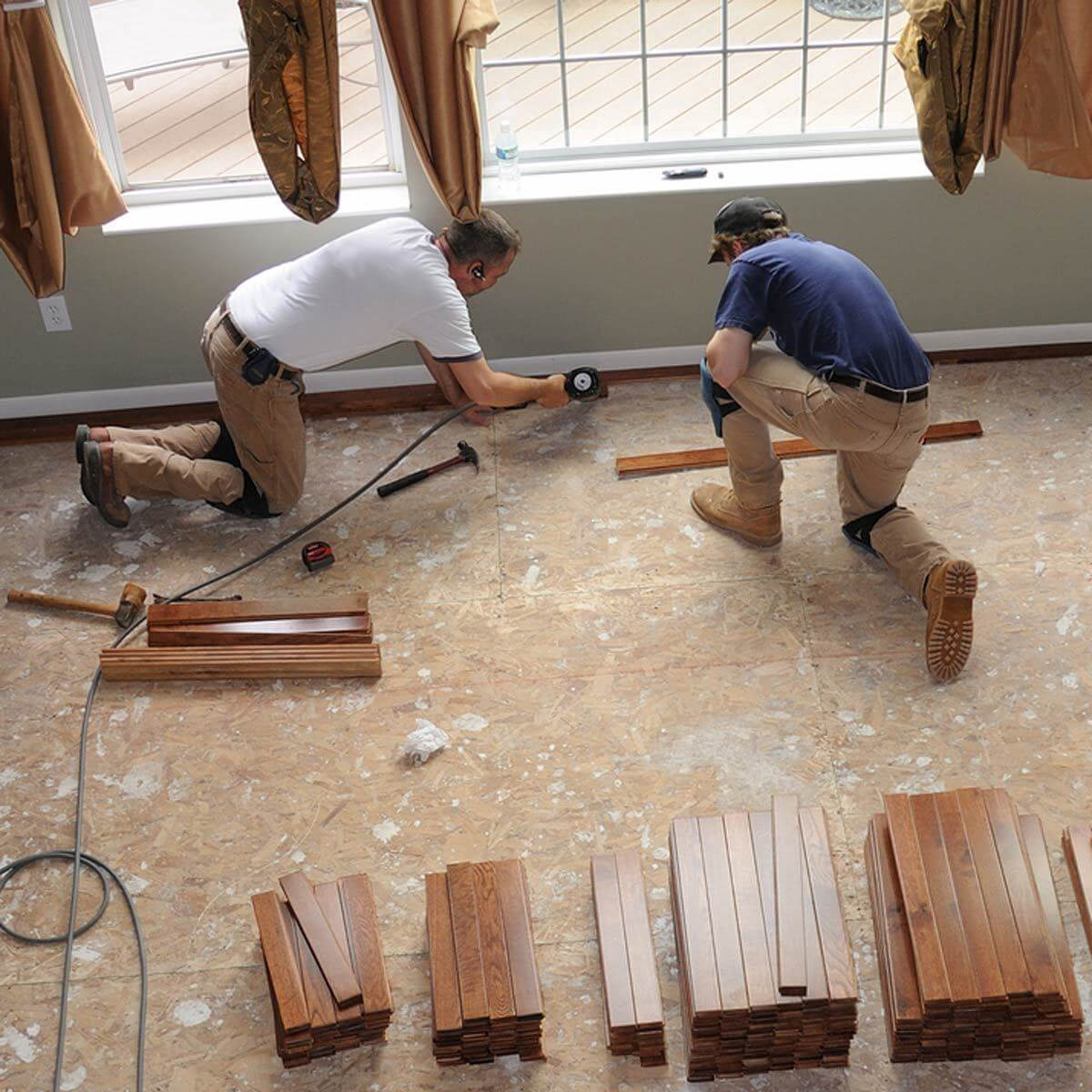 Upgraded flooring can do a lot to increase the resale value of your home. #homeprojects #realestate cpix.me/a/79250279