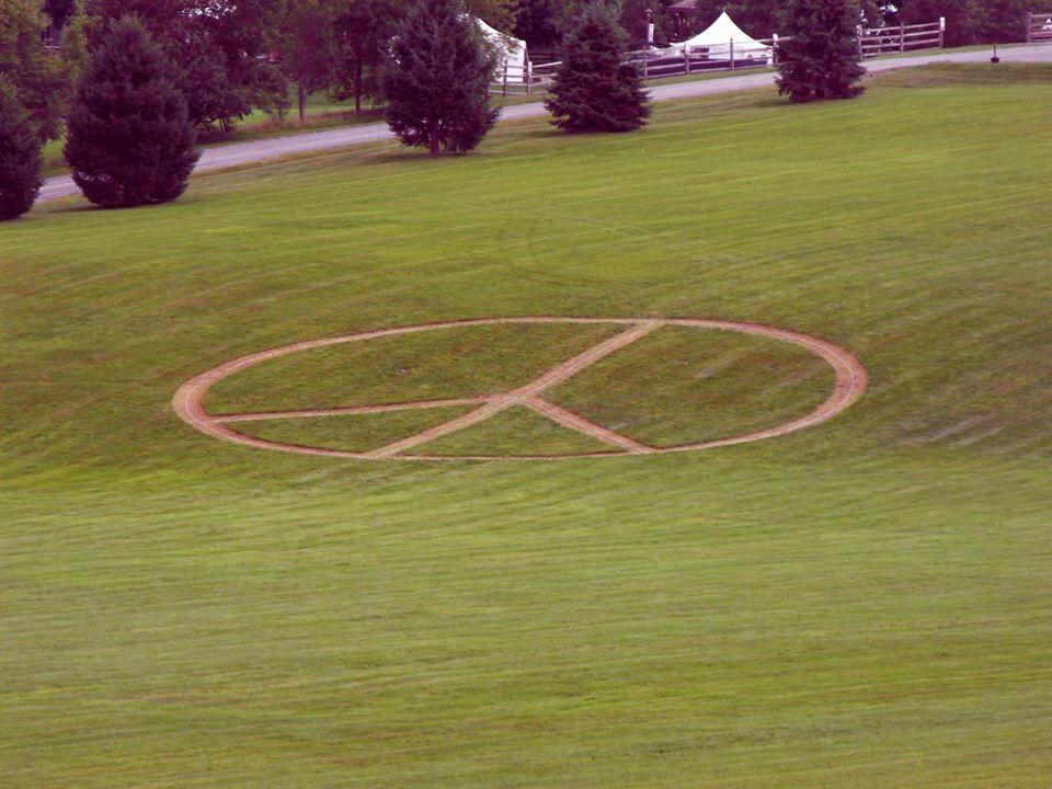 Already planning my Woodstock 100 broadcast #woodstock #woodstock100 #peace