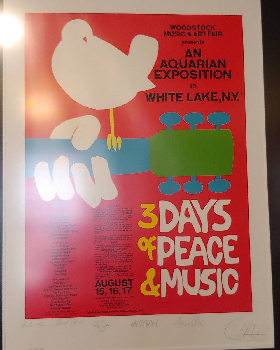 Fifty years ago already? #Woodstock
