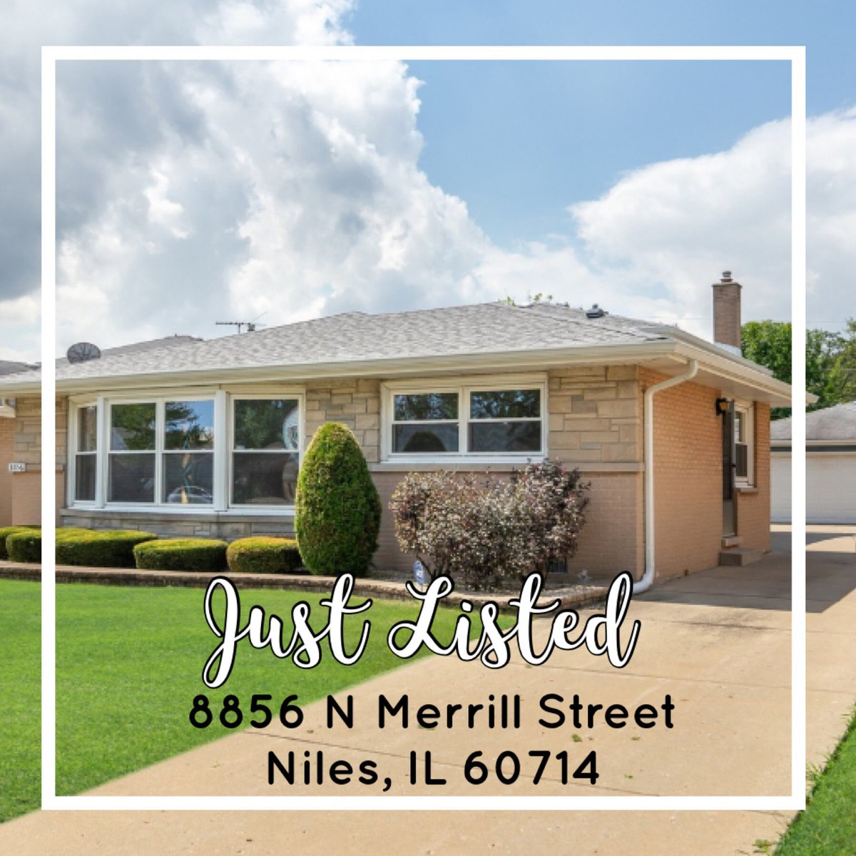 Just listed this gorgeous 4 bedroom, 2 full bath home in Niles! Check it out! #MJHomeTeam #BuyWithMarina #Glenview #RealEstate #Listings #Selling #HomeBuying #HomeSales #HouseSales #HomesForSale #BuyingAHome #HomeSweetHome #Realtor #BHHS #KoenigRubloff