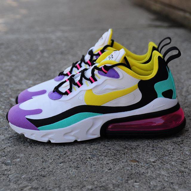 Nike air max 270 react All Shoes Pre School . Foot Locker