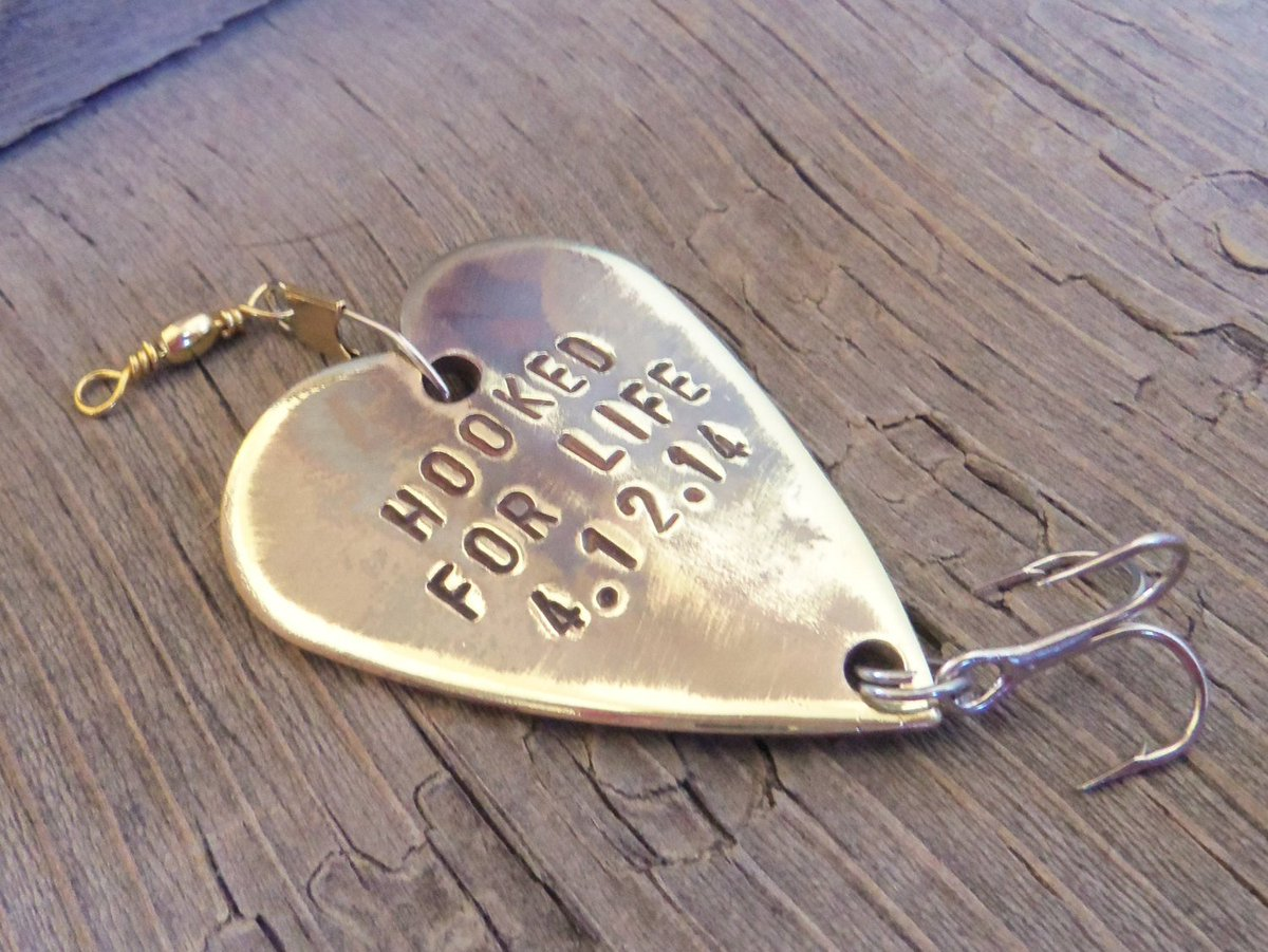 Groom Gift for Husband Fishing Lure Gift for Man Custom Gift Fishing Gift Personalized Small Gift Gift under 35 Gift under 40 Gift under 50 http://tuppu.net/e340b1df #Shopify #CandTCustomLures #Fishing_lure