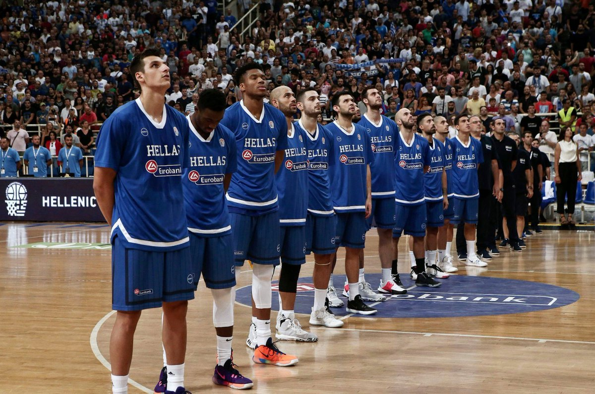 Giannis, Thanasis and Hellas take on Serbia in the finale of the @FIBAWC warm-up tournament from Athens!! Watch LIVE: youtube.com/watch?v=AYaFkb… #HellasGotGame   #FearTheDeer
