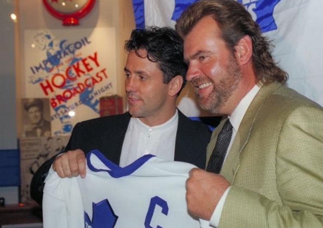 25 years ago today in 1994 @DougGilmour93 was named 15th captain of the @MapleLeafs #93