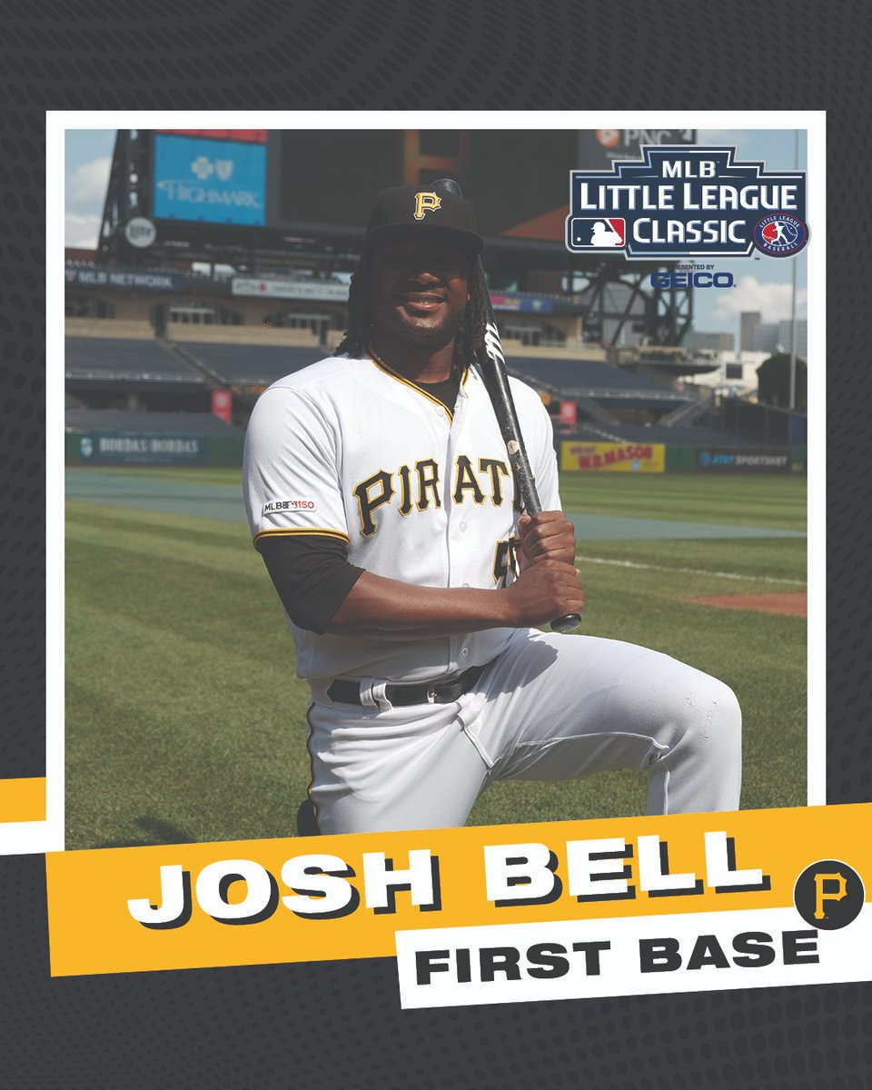 In honor of The Burgh taking part in tonight's #LittleLeagueClassic, we made them some Little League-esqe baseball cards.