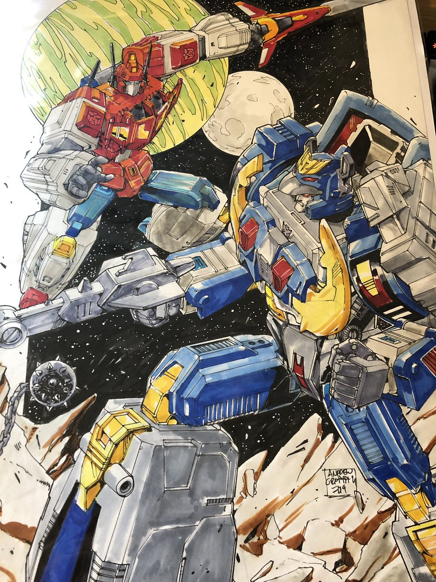 So alongside my swoony Slugslinger, I got this absolute stunner from @glovestudios @tfnationltd .  A photo does not do it justice, it's SO GOOD!