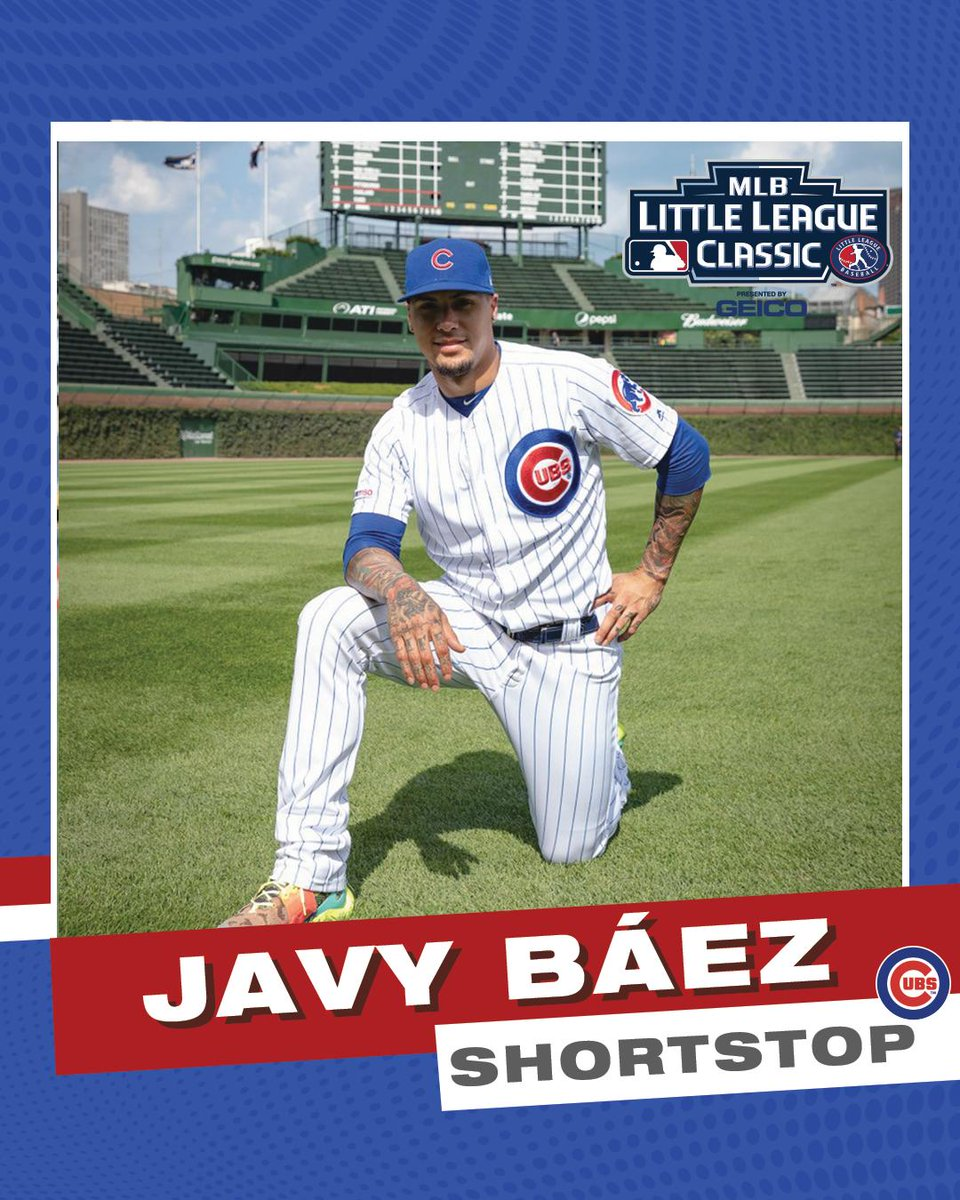 Also, we made some #LittleLeagueClassic baseball cards for The Cubbies as well!