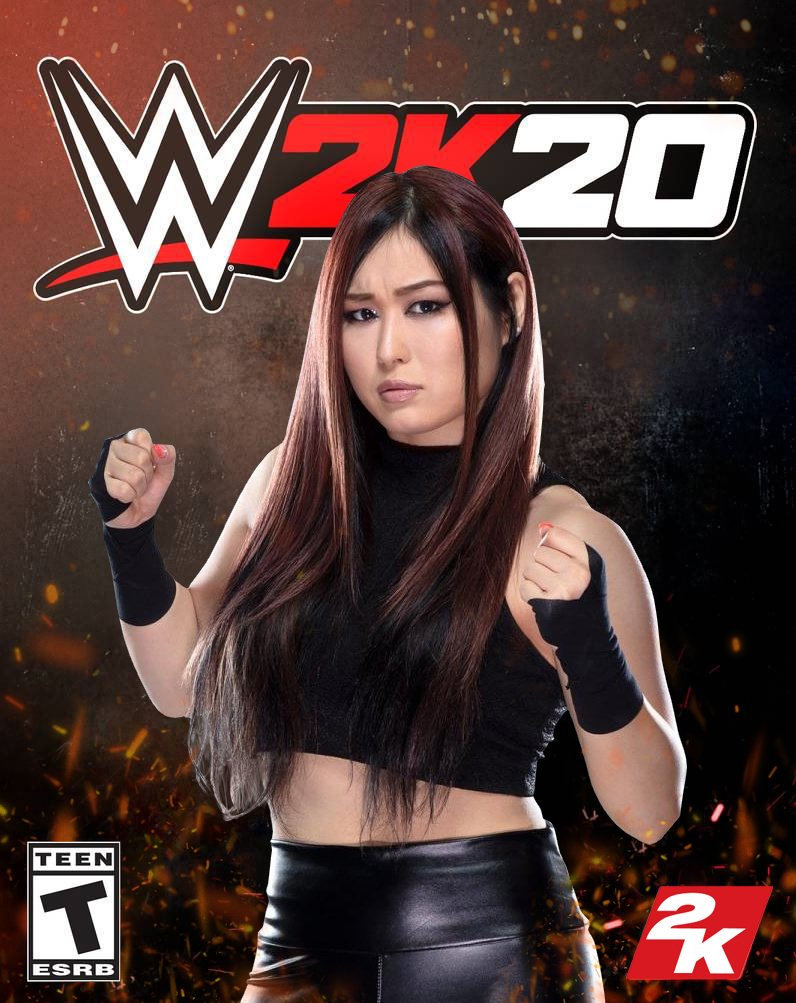 Check out our custom WWE 2K20 covers featuring @IslaDawn @shirai_io @jazzy_gabert @jessamynduke #WWE2K20 #WWE