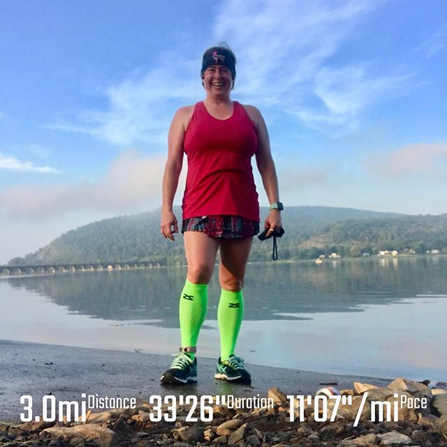 Standing post run on the boat ramp by the Susquehanna River. What a beautiful morning for a 3 mile  followed by a 2 mile 5 miles on this Sunday morning.  #sundaymiles  _____ #runnersofinstagram #runningmom #runningmotivation #runner  #fitov…  https:// ift.tt/31LqrxK    <br>http://pic.twitter.com/gQMJAqDy14