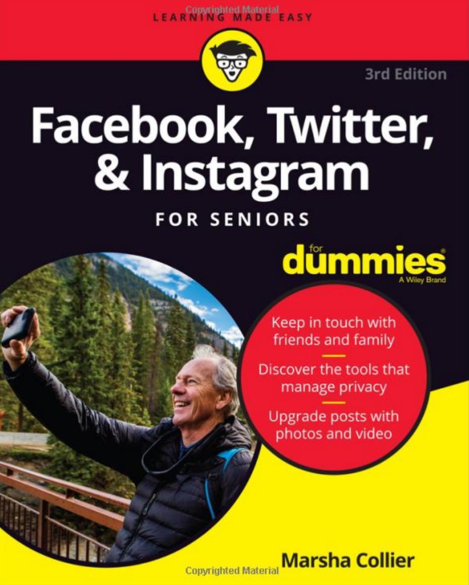 "Summer  reading    My new ""Facebook, Twitter, and Instagram For Seniors""  @ForDummies  https:// amzn.to/2Qk9M2R        #SuccessTRAIN for all!  #18 in Books > #SocialMedia Guides<br>http://pic.twitter.com/n56UoEk8xh"