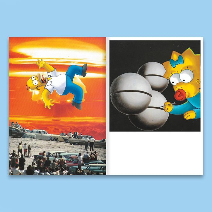 Simpsons and collage: whats not to love about DR. ME's latest zine? > bit.ly/31KQlBL